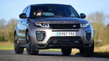 Range Rover Evoque SD4 - front