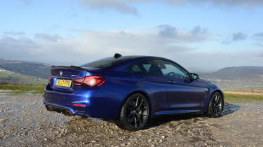 BMW M4 CS - rear static