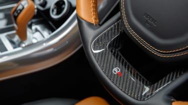 Range Rover Sport SVR - steering wheel detail
