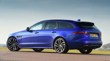 Jaguar XF Sportbrake - rear static