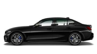 Leaked BMW 3 Series - side black
