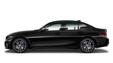 Leaked BMW 3 Series - side black