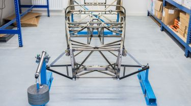 Caterham lightweight chassis