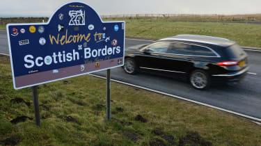 Ford Mondeo Vignale road trip - Scottish border