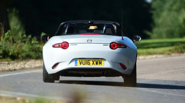 Mazda MX-5 long term - rear cornering