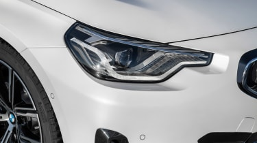 BMW 220i - front seats