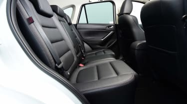 Mazda CX-5 - rear seats