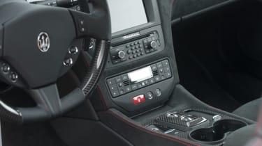 Maserati GranTurismo MC Stradale centre console