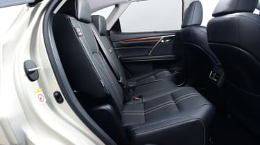 Lexus RX - rear seats