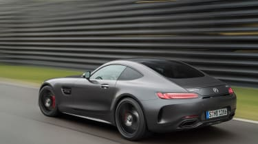 Mercedes-AMG GT C Edition 50 - rear tracking