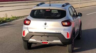 Renault K-ZE - rear tracking