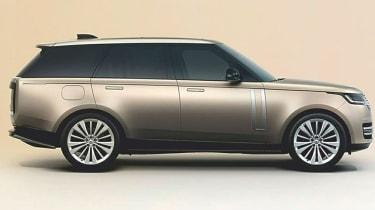 Range Rover leak - side