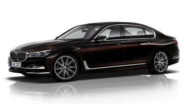New 2015 BMW 7-Series side brown