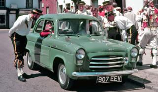 Ford Popular front quarter green