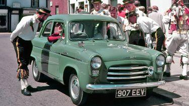 Ford Popular front quarter green