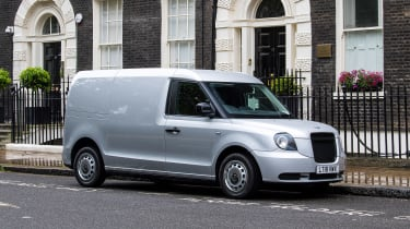 LEVC LCV - front/side static