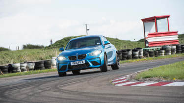 BMW M2 group - front cornering