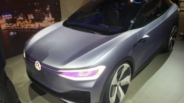 Volkswagen I.D. Crozz concept - front