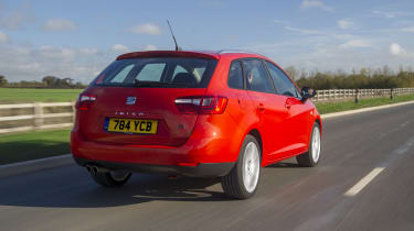 SEAT Ibiza ST rear tacking country