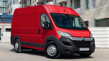 Citroen Relay - front cornering