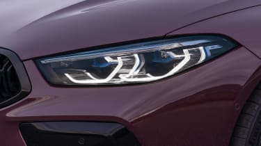 BMW M8 Gran Coupe - front lights