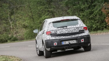 Vauxhall Astra prototype - rear cornering
