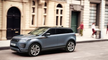 New Range Rover Evoque - front action