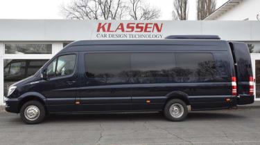 Klassen Sprinter VIP armoured side profile