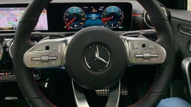 DotW Mercedes A250 - Interior