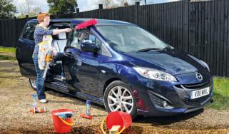 Mazda 5 header