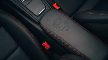 Porsche 911 Speedster - interior detail
