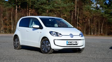 Volkswagen e-up! static