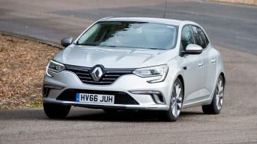 Renault Megane - front cornering