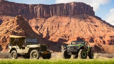 75 years of Jeep - Willys and Trailcat