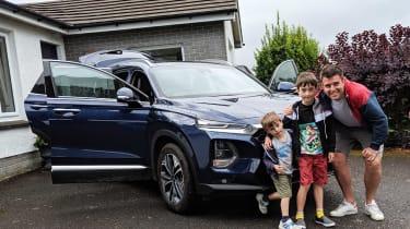 Hyundai Santa Fe - fourth report header