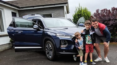 Hyundai Santa Fe - fourth report header