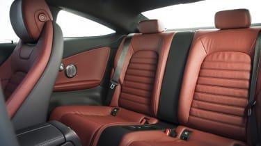 Mercedes C-Class Coupe - rear seats