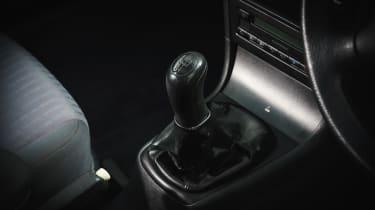 Skoda Octavia - gearstick