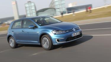 Volkswagen e-Golf 2014 left front