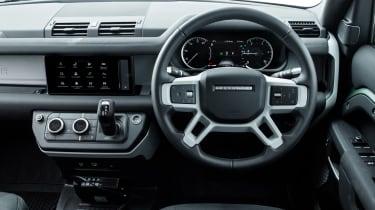 Land Rover Defender P400e PHEV - dash