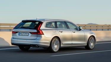 Volvo V90 estate 2016 - rear tracking
