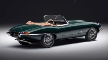 Jaguar E-Type 60 Collection - roadster rear static