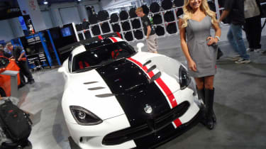 Everyone loves a Viper and this is perhaps the ultimate example. The ACR Concept is a track car and, as such, has been stripped-out and been put through a weight-loss programme.