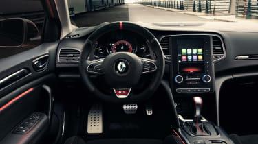 Renault Megane RS - dash