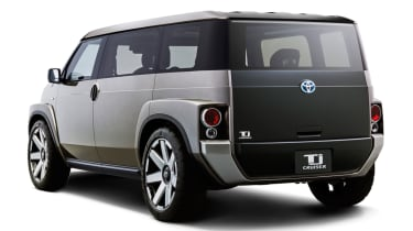 New Toyota Tj Cruiser concept - rear