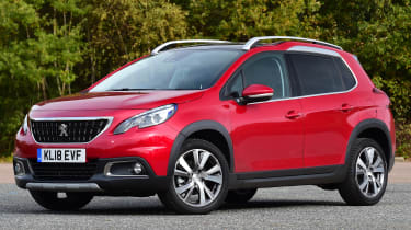 peugeot 2008 static front