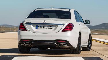 Mercedes-AMG S 63 - rear static