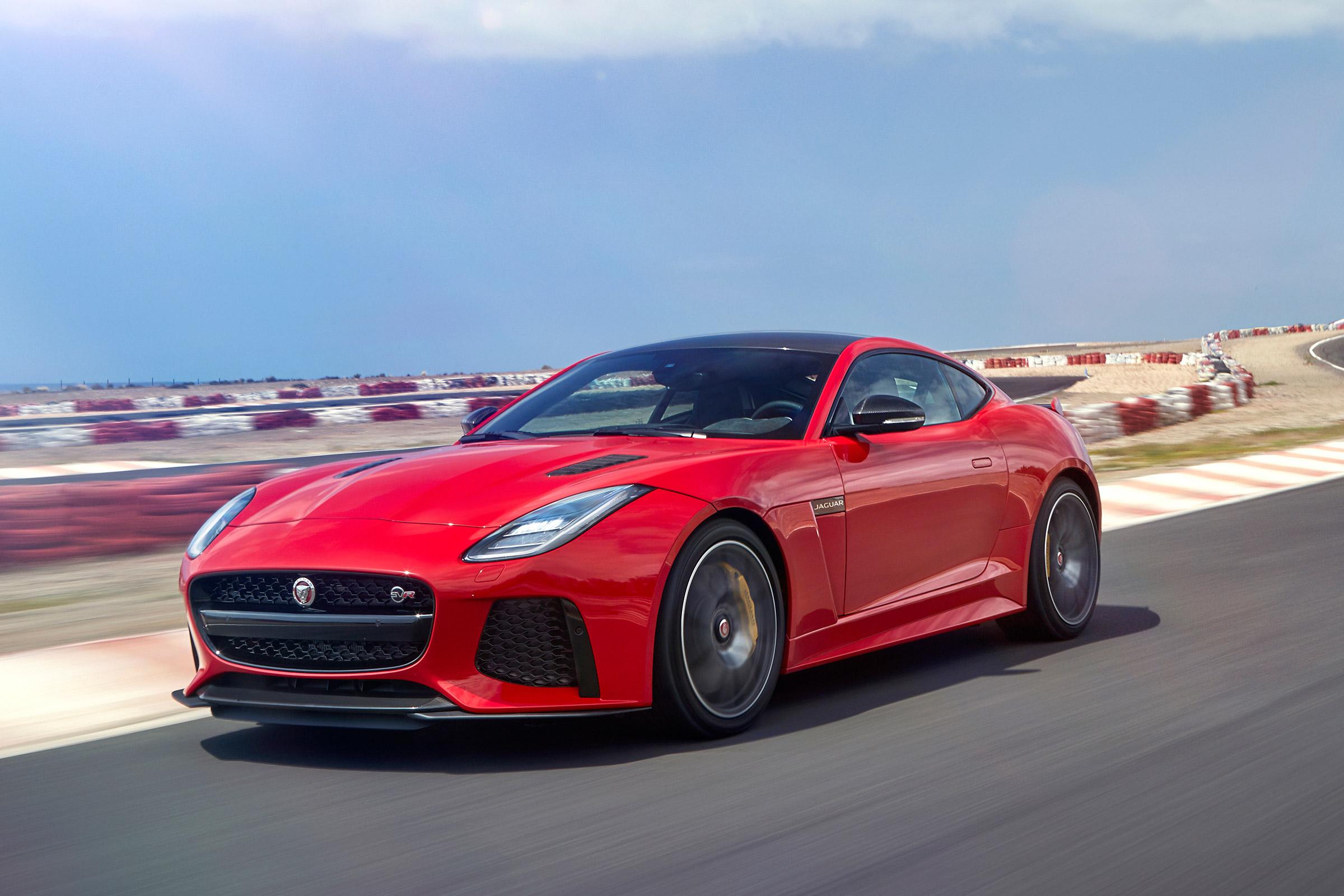 Jaguar F Type Svr 2017 Review Auto Express