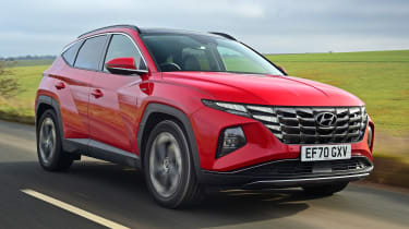 Hyundai Tucson MHEV - front