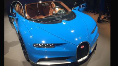 Bugatti Chiron Geneva 2016 - nose